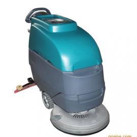 全自动洗地机 电瓶式智能洗地机  一月牌BK80-2 超市用洗地机 车