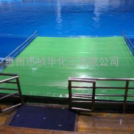 聚脲涂料用于游泳池水池防水防护