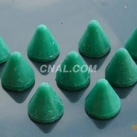 昆山铝合金振动机去毛边抛磨块/绿色研磨石//树脂磨料价格