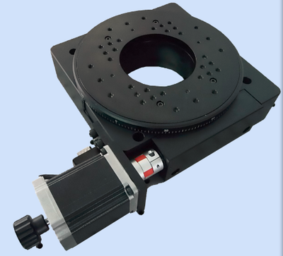PX110-200精密电动转台蜗轮蜗杆 位移台,旋转台、定位台