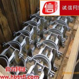 不锈钢双螺栓管夹生产厂家