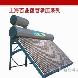 可与锅炉联动的太阳能热水器