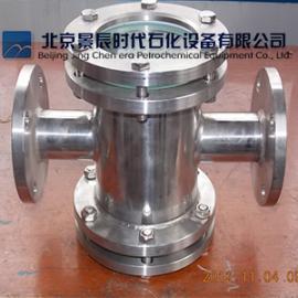 不锈钢304材质直通视镜 (四通)管道视镜 北京厂家直销