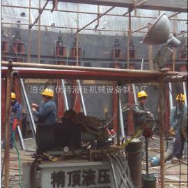 天津北疆电厂脱硫施工现场