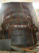 新疆北屯屯富热点厂烟囱提升现场