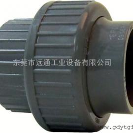 +GF+管件管材 PVC-U活接头 厂家直销