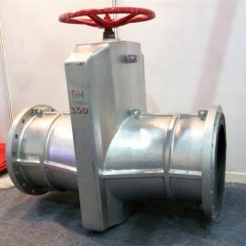 GJ41X铝合金管夹阀  电动管夹阀  铸铁管夹阀
