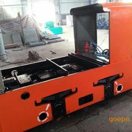 8吨蓄电池电瓶车,XK8-6/110蓄电池电机车