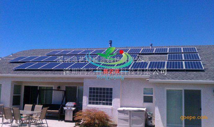 家庭供电,太阳能广告牌供电系统,通信基站供电系统,分布式光伏并网