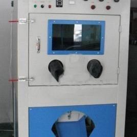 深圳滚筒式自动喷砂机,深圳小五金自动打砂机
