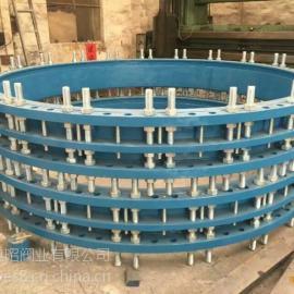 法兰限位伸缩节 钢制管道伸缩器