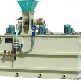 三箱式絮凝剂配投装置