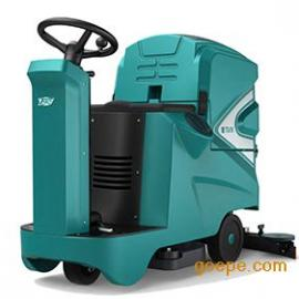 湖南工厂树脂油漆水磨石地面全自动驾驶式洗地机