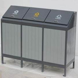 张家港三分类垃圾桶果皮箱