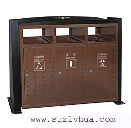 湖州南浔三分类垃圾桶果皮箱