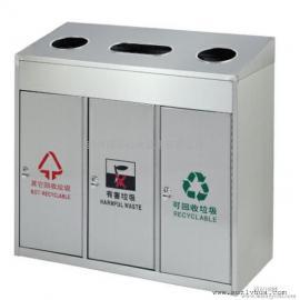 苏州高新区三分类垃圾桶果皮箱