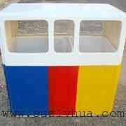 无锡宜兴市三分类垃圾桶果皮箱