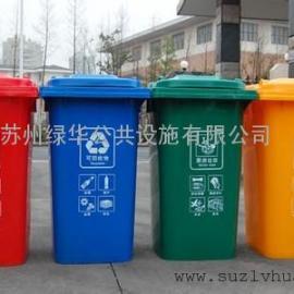 昆山高新区三分类垃圾桶果皮箱