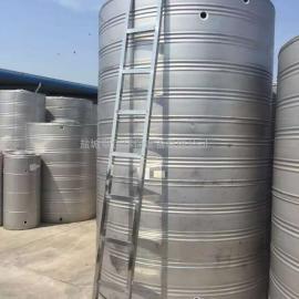 厂家供应圆柱形不锈钢冷水箱,甘肃不锈钢圆柱形水箱,不锈钢圆柱水