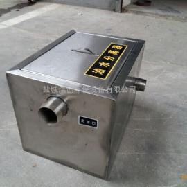 厂家定制不锈钢隔油池,小型餐饮无动力不锈钢油水分离器,厨房隔
