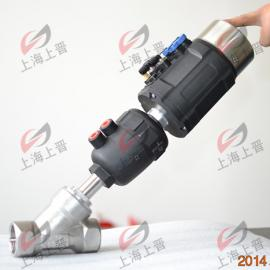 气动调节式角座阀 采用过程控制 配智能型电气定位器