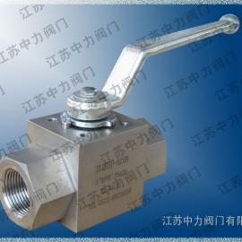 CJZQ系列高压外螺纹球阀