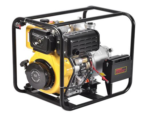 伊藤电启动4寸柴油水泵YT40DPE