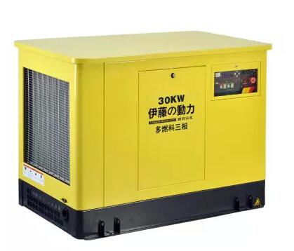 上海伊藤30KW汽油发电机YT30REP厂家