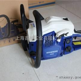 韩国现代油锯X960、20寸进口油锯、性价比最高的20寸油锯