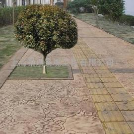 淮南透水地坪价格|八公山彩色水泥压模地坪|潘集仿石压印地坪