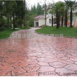合肥彩色水泥地坪|蜀山压花路面|长丰仿石地坪|包河压模地坪