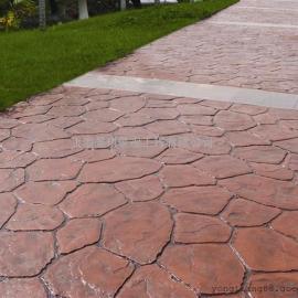 合肥压花地面材料|庐阳艺术压模地坪|肥西艺术压印仿石混凝土