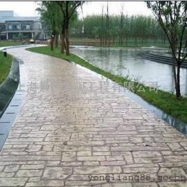 温州艺术地坪地面材料 鹿城压花混凝土 龙湾水泥仿石压印地坪