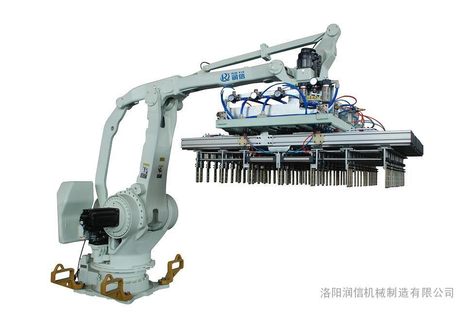 润信牌机器人码坯机 砖厂机器人码垛机