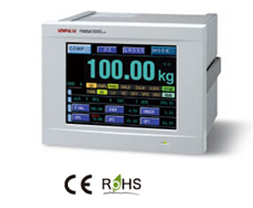 Unipulse尤尼帕斯F805AT �|摸式�C合型�Q重�x表/控制器