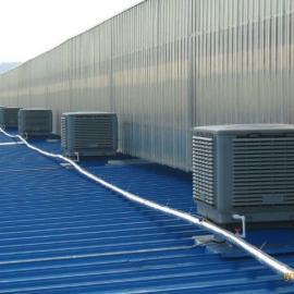 东莞虎门白铁通风工程价格,环保空调降温,水帘墙,铁皮房降温