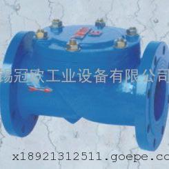 HC44X型橡胶瓣止回阀