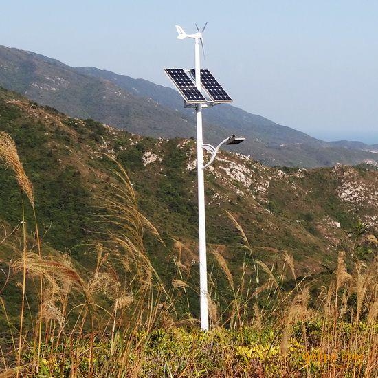 120W风光互补路灯照明系统