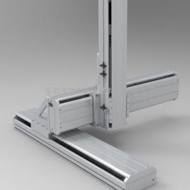 SATA滚珠螺杆带动系列线性模组 SATA模组导轨滑台