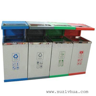 苏州钢板喷塑垃圾桶,苏州不锈钢垃圾桶