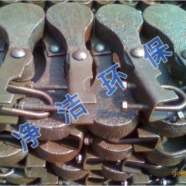 振打锤按结构形式可分为整体锤和组合锤。