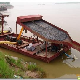 河沙淘金船 内河小型淘金船 小型淘金船