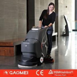 上海高美厂家直销 全自动手推式洗地机 电线式清洗吸干机