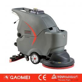 上海高美洗地机 手推式洗地机 全自动手推自走洗地机