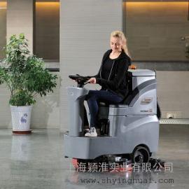 上海高美驾驶式全主动洗地机 大规模驾驶式洗地机 全主动洗地车