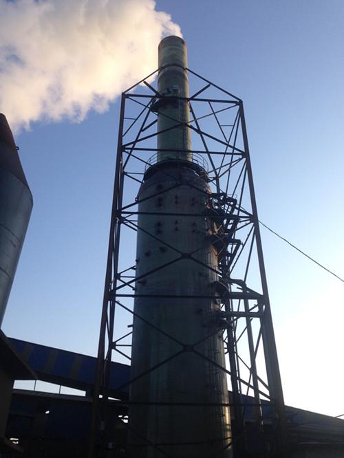 河南特钢烧结球团厂用高效脱硫除尘塔/静电除尘器处理效率