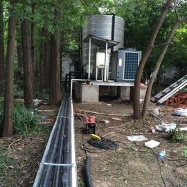 单位厂房安装空气能热水器