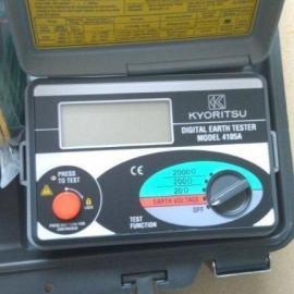 正品供应日本共立4105AH数显接地电阻测试仪