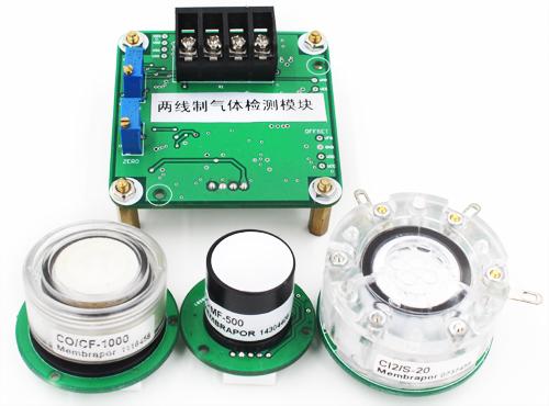供应二线制电流氨气(NH3)气体检测模块
