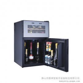 电子酒柜与压缩机酒柜区别/电子酒柜尺寸/半导体酒柜冷柜